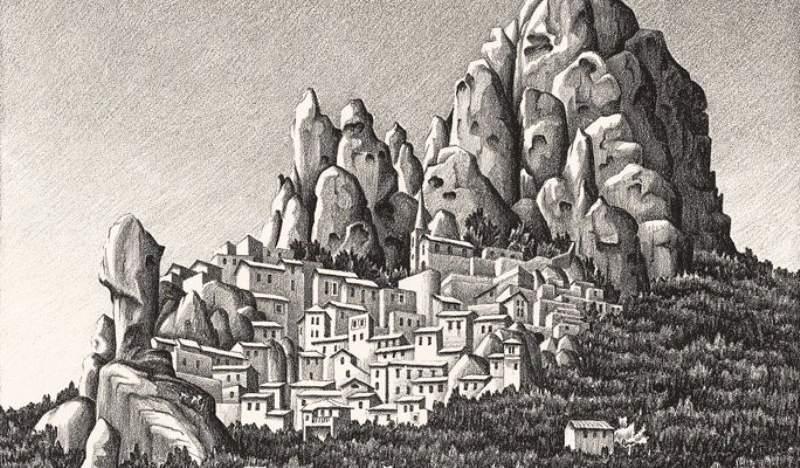 Mauritius Cornelius Escher, Pentedattilo