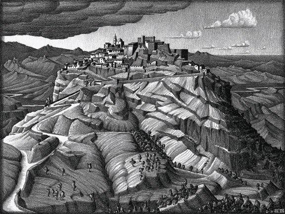 Mauritius Cornelius Escher, immagine di Santa Severina