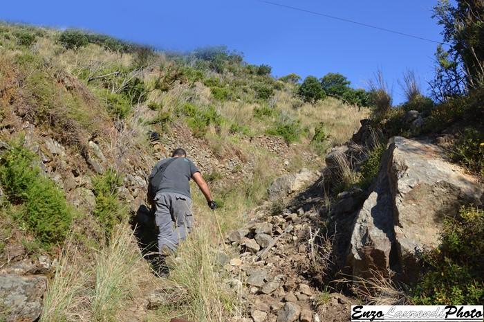 Bagnara Calabra, sentiero di monte cocuzzo, la situazione difficile del tracciato