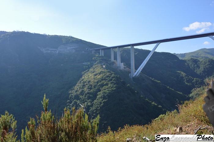 Bagnara Calabra, sentiero di Monte Cocuzzo, ponte dell'autostrada.