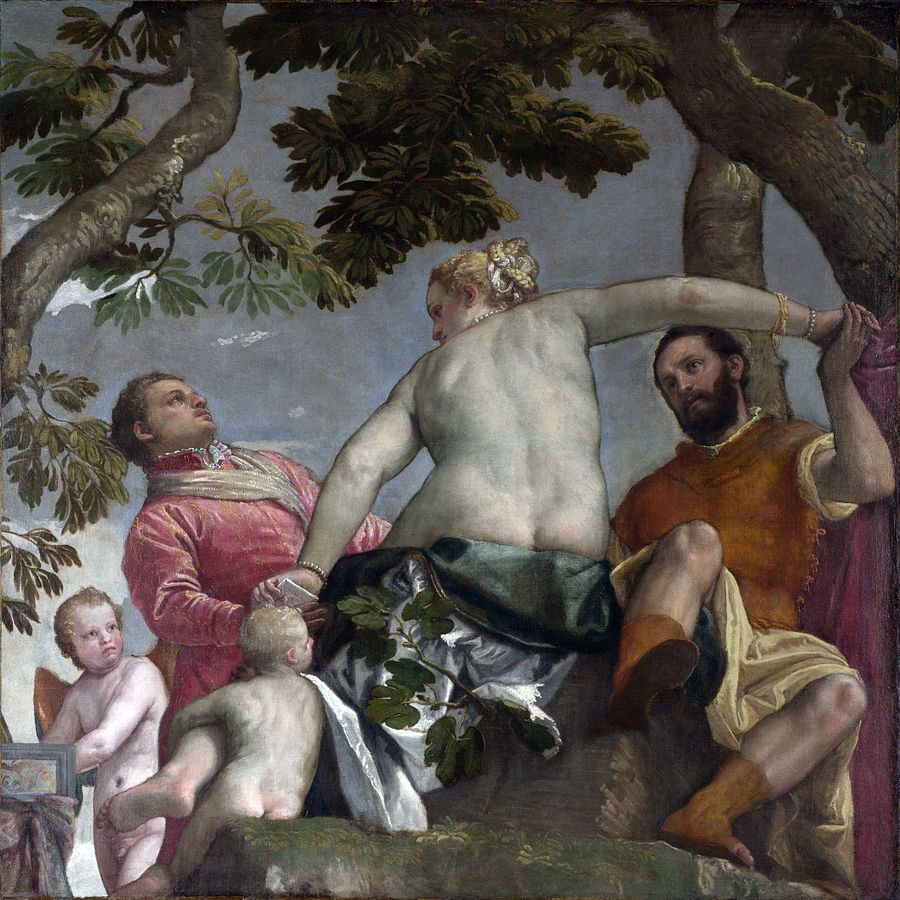 Paolo Veronese, allegorie nuziali, infedeltà