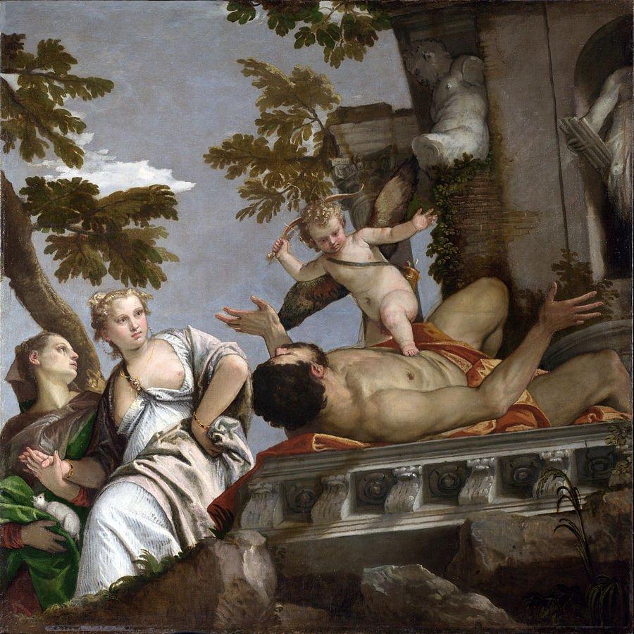 Paolo veronese, allegorie nuziali, disinganno