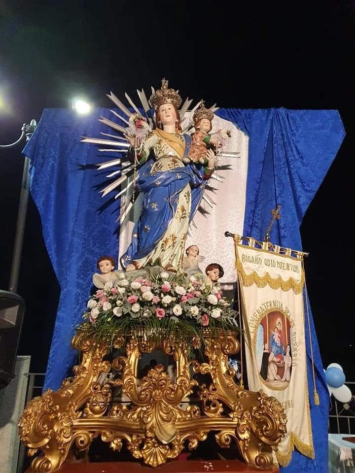 la madonna del rosario di cinquefrondi