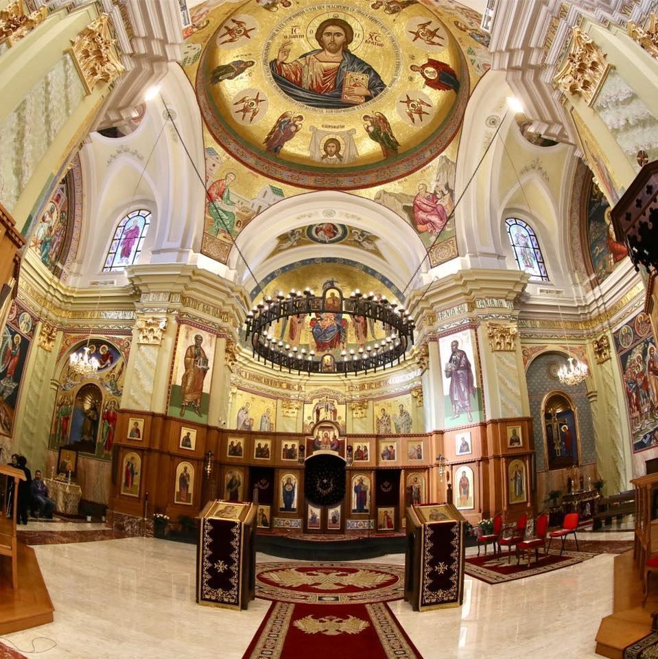 interno cattedrale di lungro