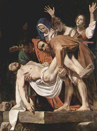 Analisi de La deposizione di Cristo, opera di Caravaggio